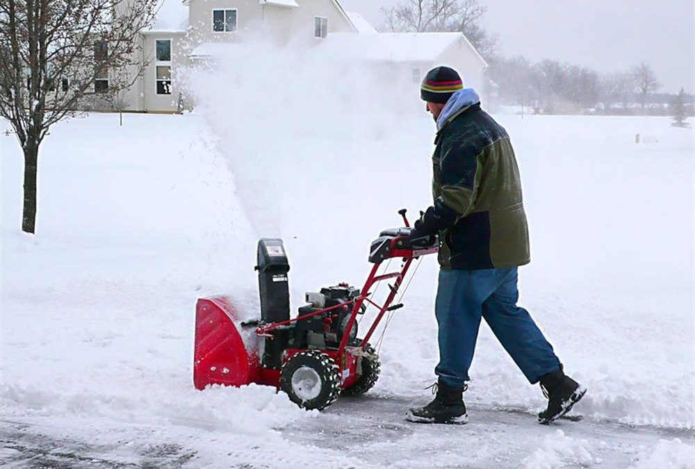 How to start snow blower, snow blower