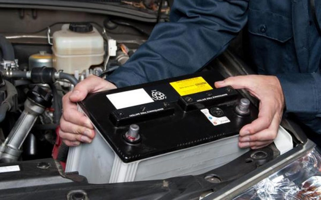 How to change a car battery.