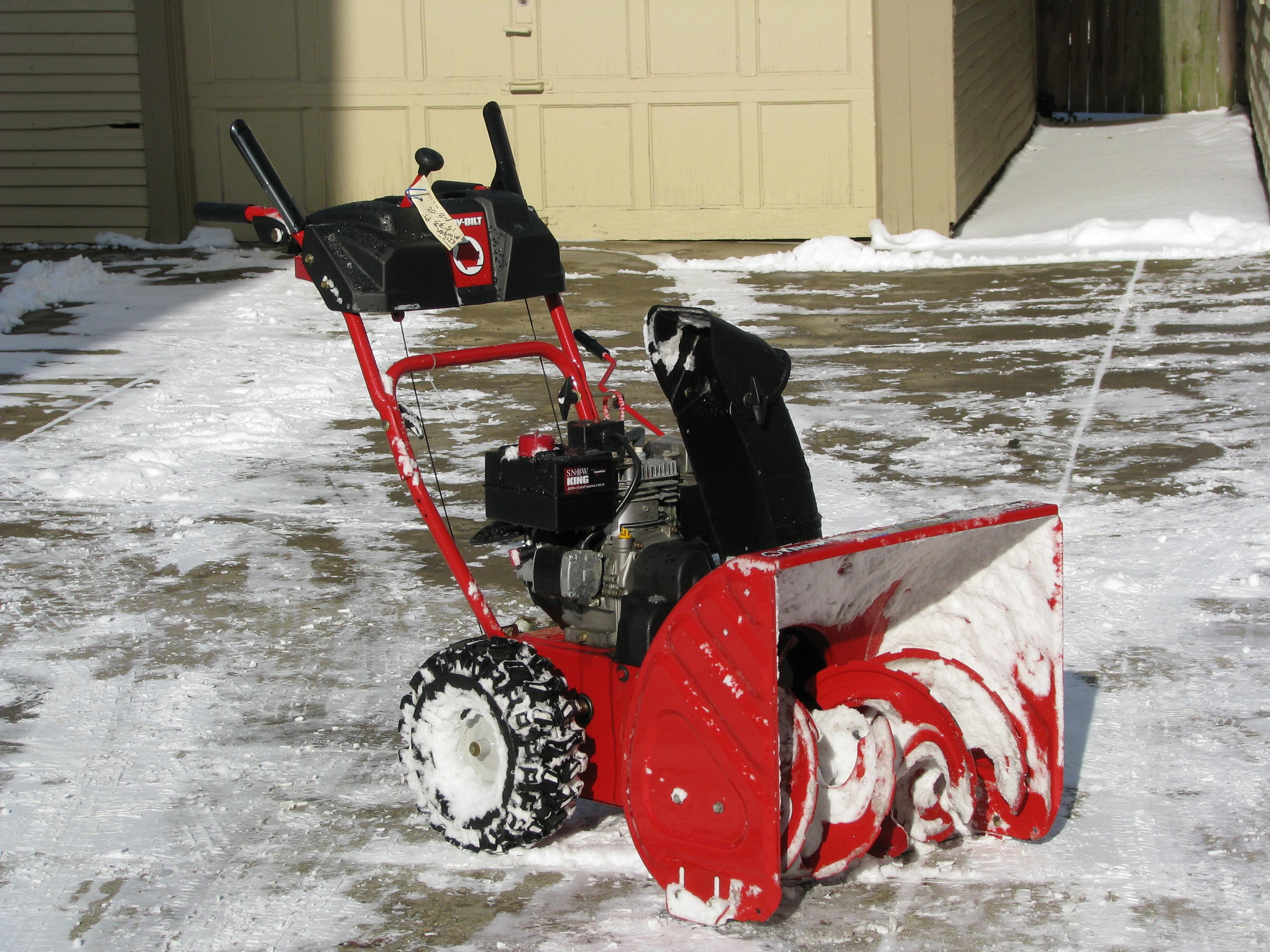 Snow Blower Maintenance Tips Mvs Ottawa