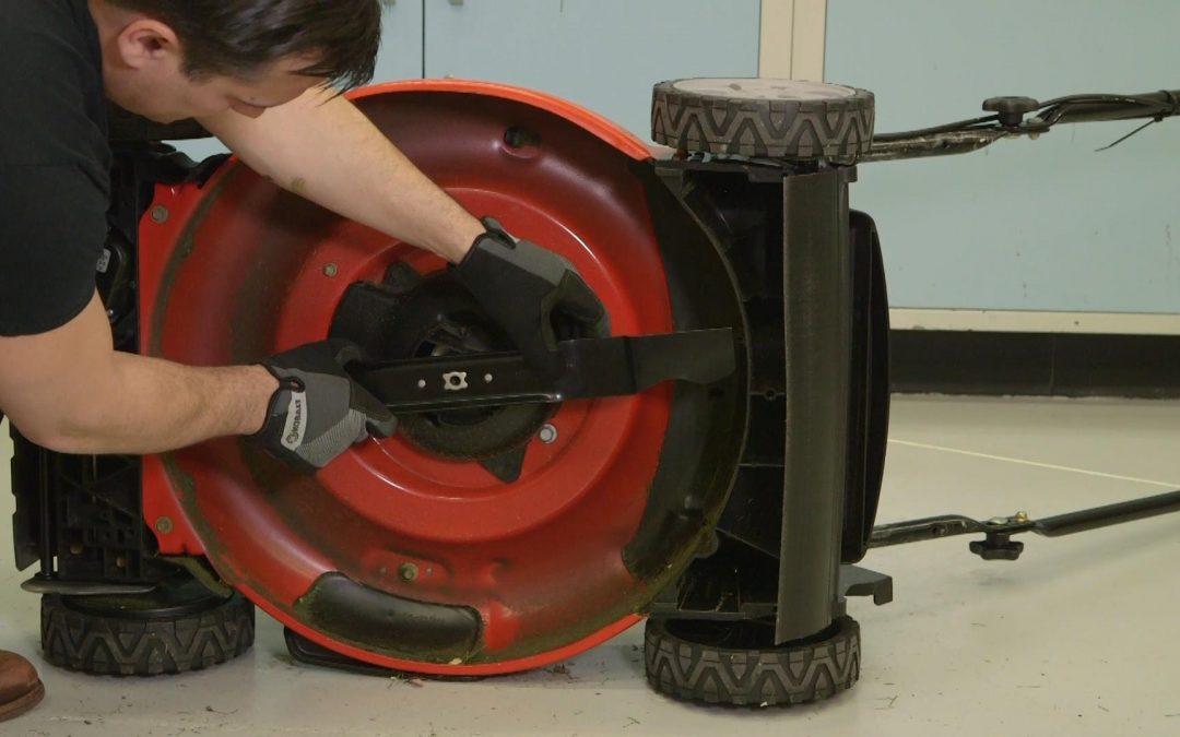 Lawn Mower Blade Maintenance
