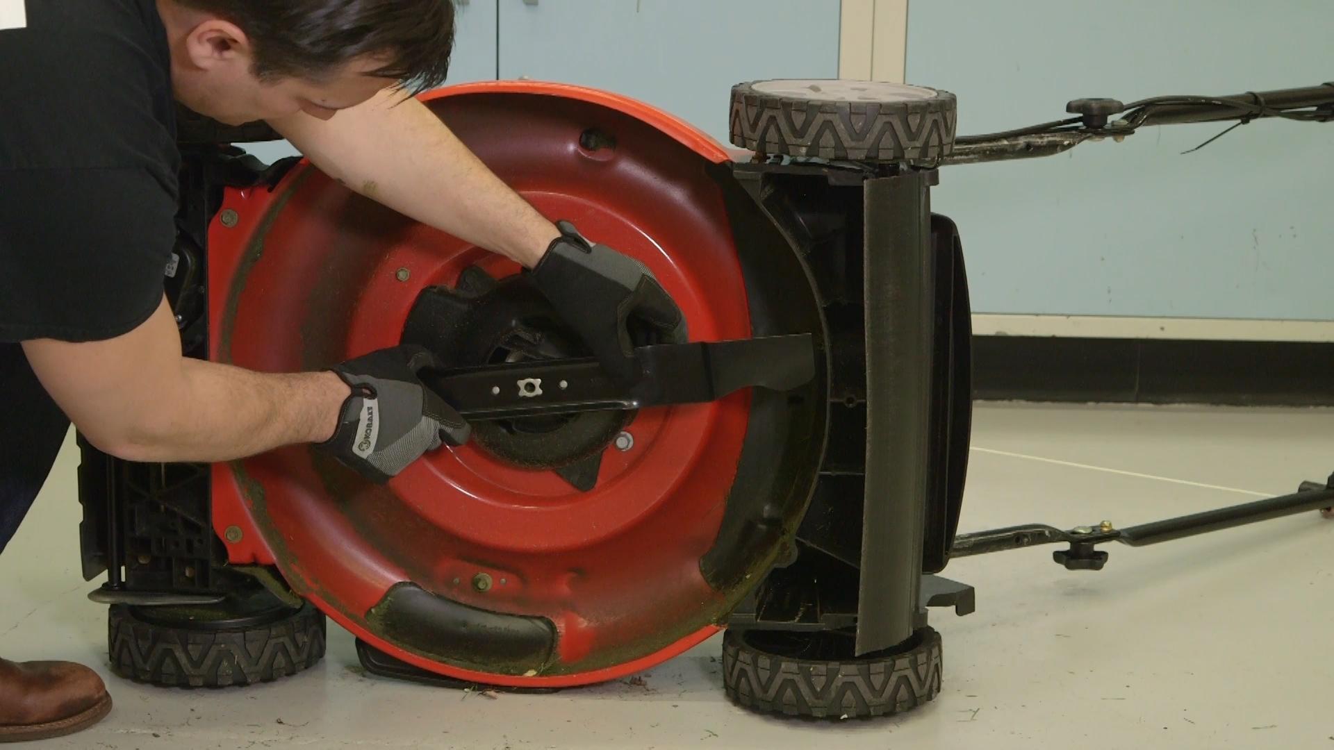Lawn Mower Blade Maintenance Mvs Ottawa