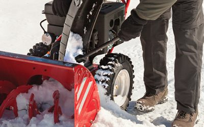 What to Do If Your Snowblower Clogs